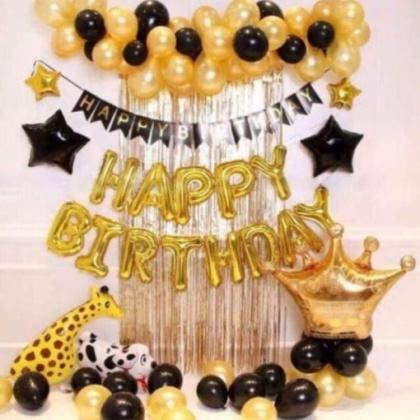 Set bóng trang trí sinh nhật